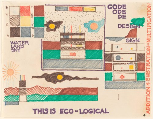 Untitled [This Is Eco-Logical], from the portfolio Fabrications