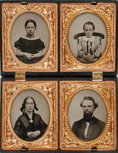 Untitled [Four portraits]