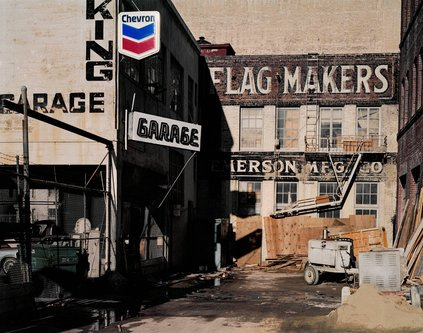 Image for artwork Flag Makers, Natoma at Third Street, from the series South of Market, 1978-1986