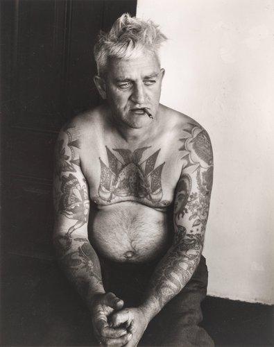 Soldier Meyer, Tattoo Artist, Monterey
