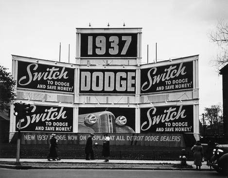 """Switch to Dodge,"" Detroit"