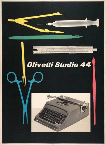 Olivetti Studio 44 poster