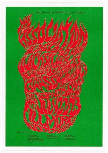 The Association, Quicksilver Messenger Service, Grassroots, Sopwith Camel; Fillmore Auditorium, July 22-23, 1966