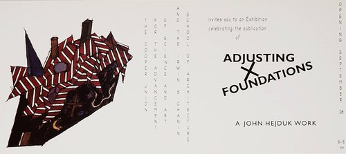 Adjusting Foundations Exhibition Announcement
