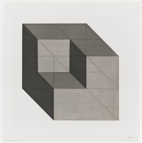 Forms Derived from a Cube, Plate #02