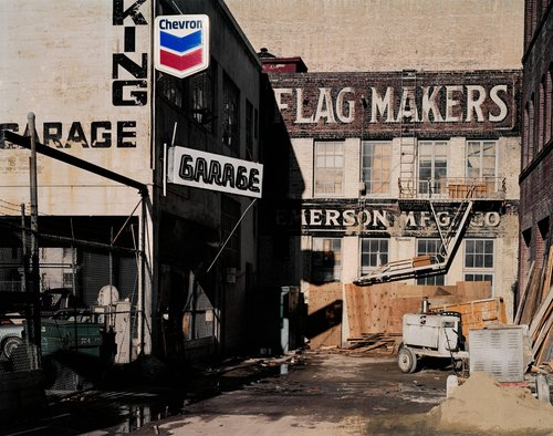Flag Makers, Natoma at Third Street, from the series South of Market, 1978-1986