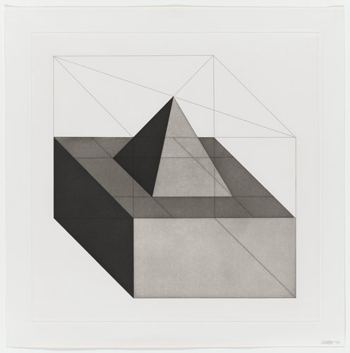 Forms Derived from a Cube, Plate #23