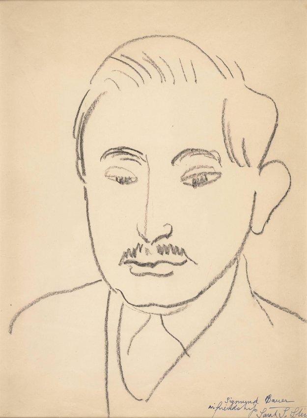 image of 'Portrait of Sigmund Bauer'