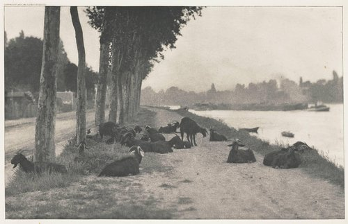 On the Seine—Near Paris, from the portfolio Picturesque Bits of New York and Other Studies