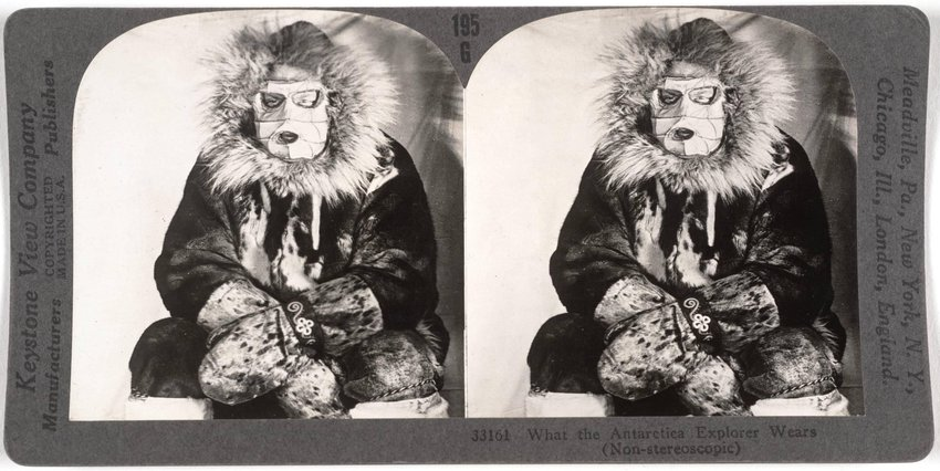 image of 'What the Antarctica Explorer Wears'