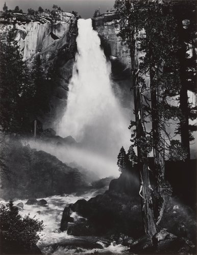 Nevada Fall, Rainbow, from Portfolio Three: Yosemite Valley