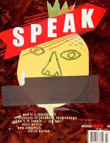 Speak 17, Winter 2000