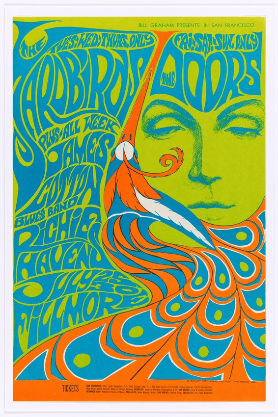 image of 'The Yardbirds, The Doors, Fillmore Auditorium; San Francisco, July 25-30, 1967'