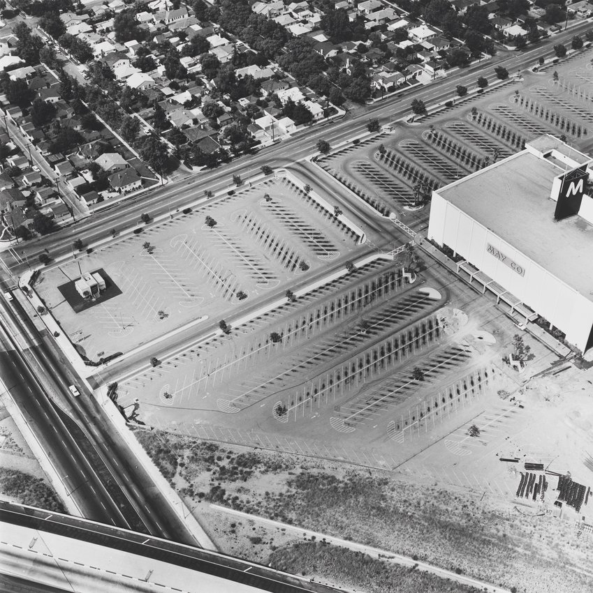 image of 'May Company, 6150 Laurel Canyon, North Hollywood, from the series Parking Lots'