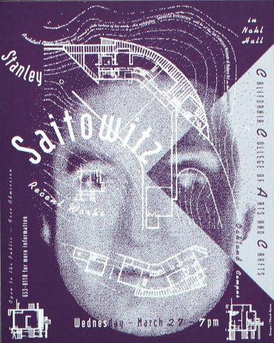 Stanley Saitowitz at CCAC poster