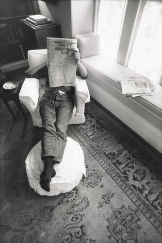 Man Reading Newspaper (John Caldwell)