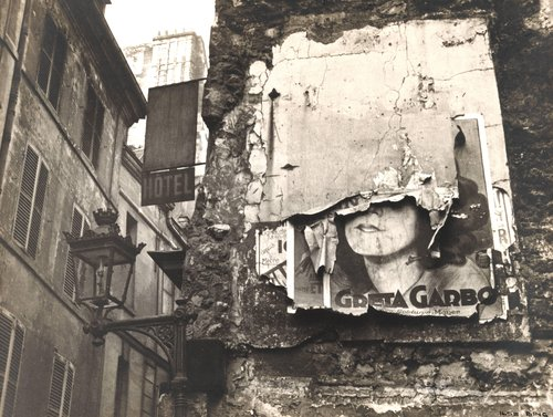 Greta Garbo Poster, Paris