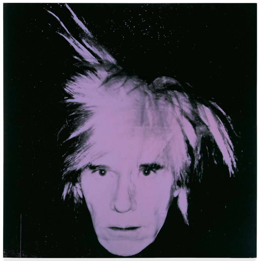 Fabulous Andy Warhol, Self-Portrait, 1986 · SFMOMA FW33