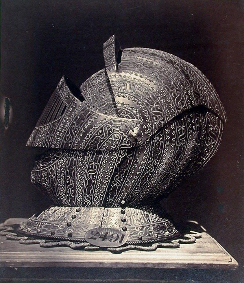 image of 'Helmet, Spanish, 16th Century'
