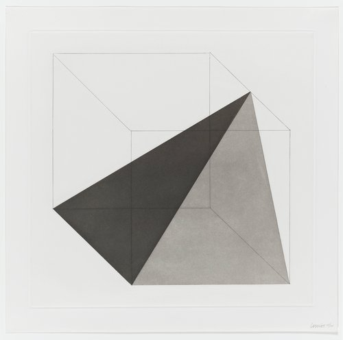 Forms Derived from a Cube, Plate #14