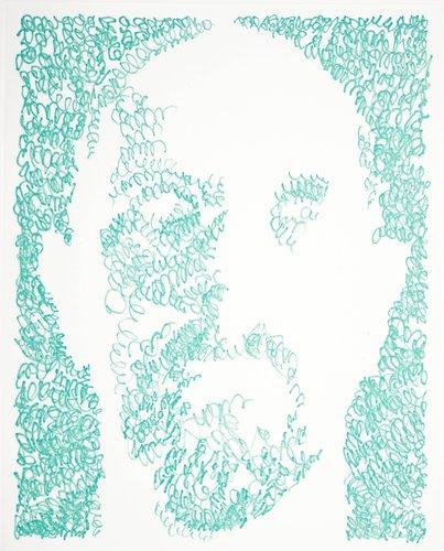 Self Portraits / Scribble / Etching Portfolio