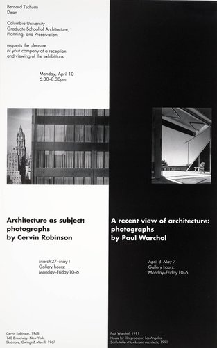 Robinson/Warchol Exhibit Invitation