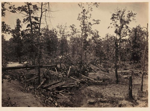 Battle Field of Atlanta, Georgia, July 22d, 1864, No. 1, from Photographic Views of Sherman's Campaign