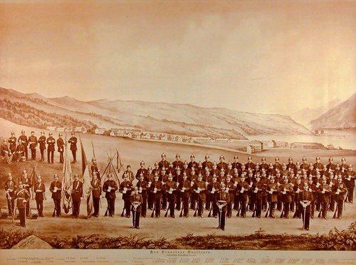 San Francisco Fusileers, San Francisco, 1878