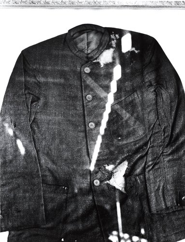 A Death by A-Bomb, a Summer Jacket of a Junior High School Boy, from the series The Map