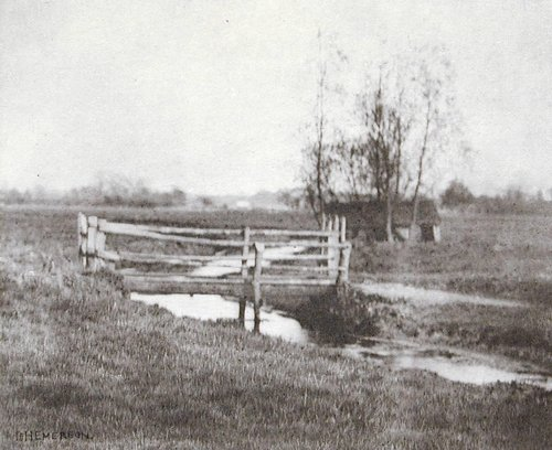Where Winds the Dyke, plate XVIII from Pictures of East Anglian Life