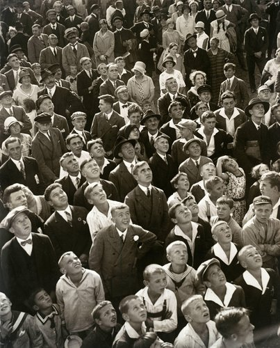 Spectators at a Sports Event, from the series Crowd