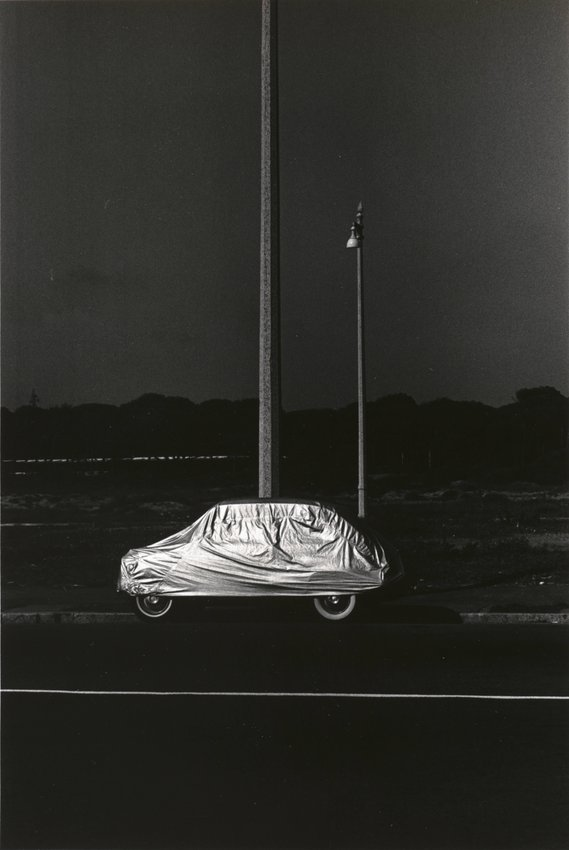 image of 'Car and Poles, Rome'