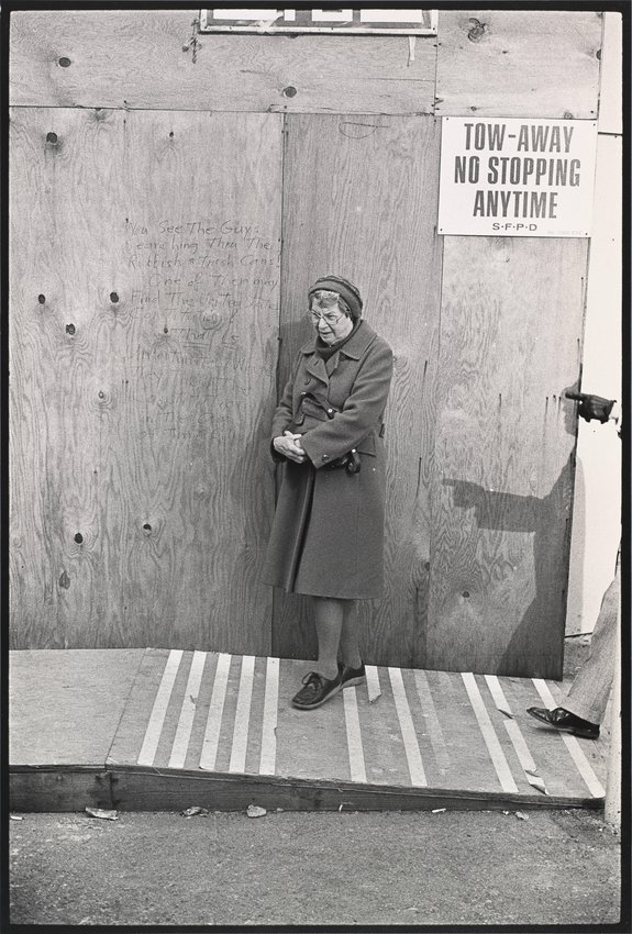 image of 'Untitled [Woman on street]'