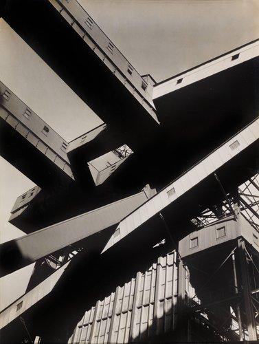 Untitled [Grain elevator]