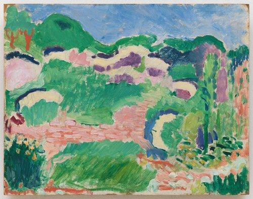 Paysage: Les genêts (Landscape: Broom)