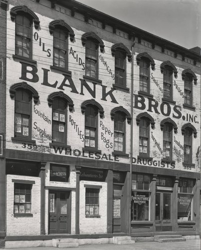 Blank Bros. Inc., New York City, 1934