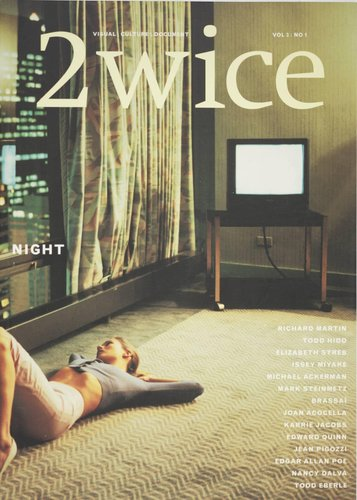 "2wice Magazine, Vol. 3, No. 1 ""Night"""