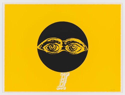 i is for eye, from the series International Signal Code Alphabet
