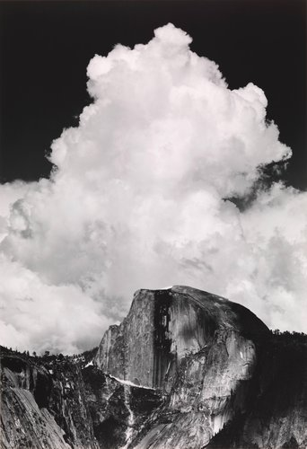 Half Dome, Thunder Cloud, from Portfolio Three: Yosemite Valley