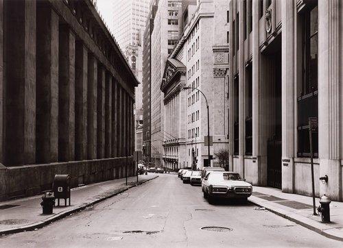 New York, Wall Street D; Nassau Street