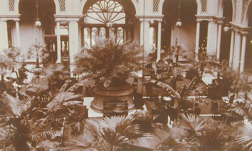 Palm Court, Palace Hotel, San Francisco