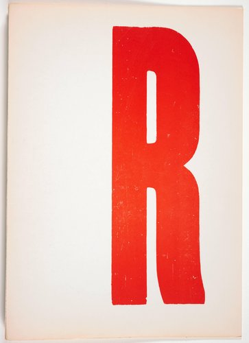 The Rebel Albert Camus: Twenty-Five Typographic Meditations [cover]