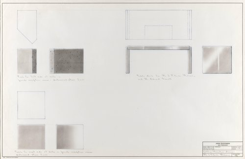 Office furniture designs for Mr. J. Patrick Mahoney and Mr. Eduard Sewell