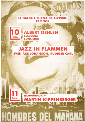 Jazz in Flammen (Jazz in Flames), from the portfolio, Mut zum Druck (Courage to Print)