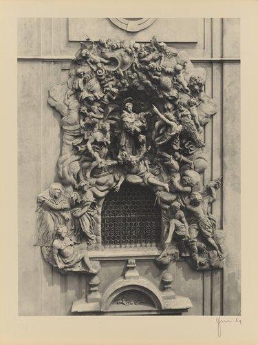 O. Mosto: Relief sv. Antonína Paduánského (Relief of St. Anthony of Padua, from the portfolio Jakubský Cyklus)