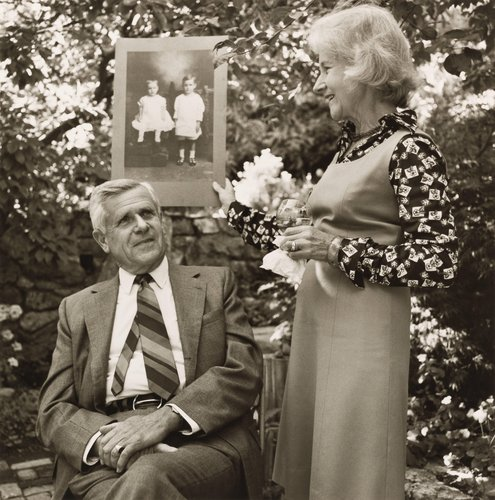 Robert Gash & Betty Gash-Pierce, from the portfolio, Siblings