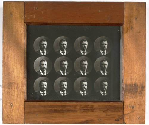 Untitled [Twelve Round Portraits of Theodore Roosevelt]