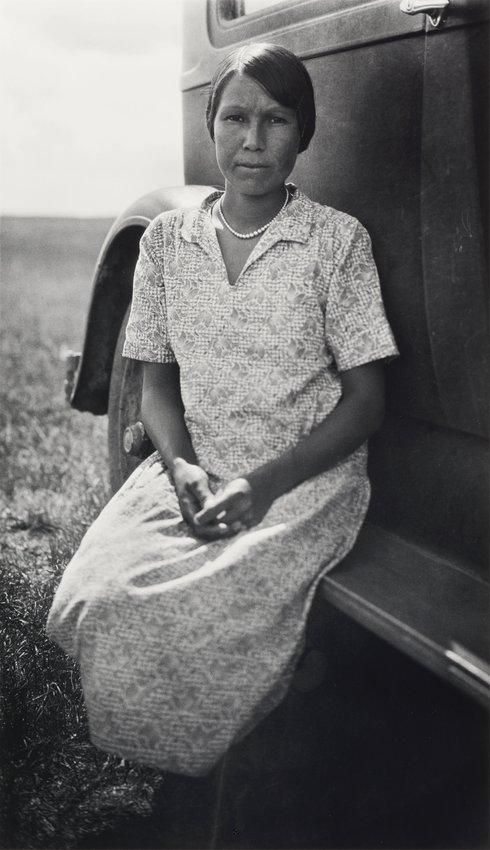 image of 'John Cordier's Big Girl (woman on running board)'