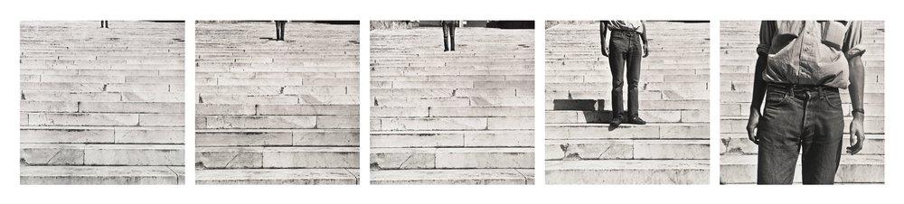 Cy + Roman Steps (I–V)