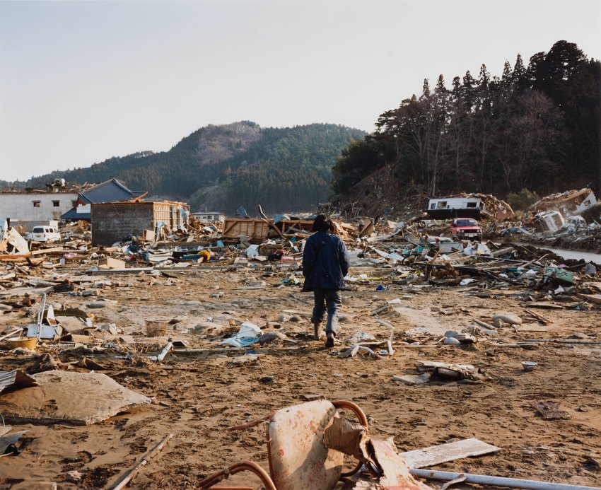image of Kesen-cho, 2011.3.19, from the series Rikuzentakata